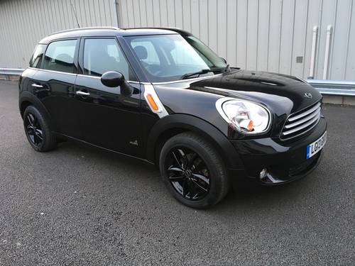 2013 MINI COUNTRYMAN 1.6 COOPER D ALL4 4X4 WITH CHILLI PACK SOLD (picture 1 of 6)