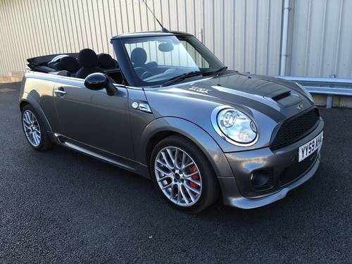 2009 MINI CONVERTIBLE 1.6 JOHN COOPER S WORKS 208 BHP JCW SOLD (picture 1 of 6)