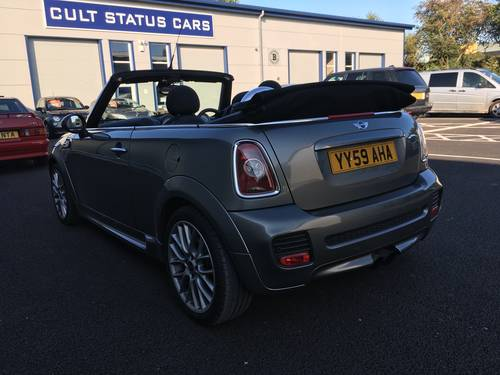 2009 MINI CONVERTIBLE 1.6 JOHN COOPER S WORKS 208 BHP JCW SOLD (picture 3 of 6)