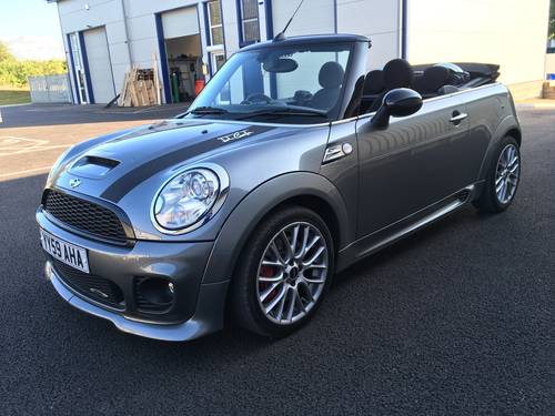 2009 MINI CONVERTIBLE 1.6 JOHN COOPER S WORKS 208 BHP JCW SOLD (picture 4 of 6)