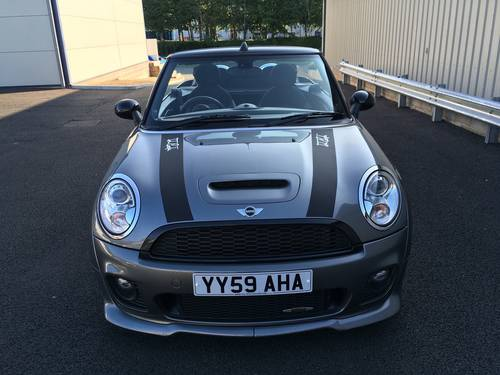 2009 MINI CONVERTIBLE 1.6 JOHN COOPER S WORKS 208 BHP JCW SOLD (picture 5 of 6)