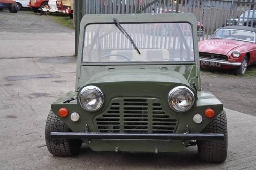 1965 MINI MOKE UK BUILT RHD RUST FREE 1275CC SOLD (picture 1 of 6)