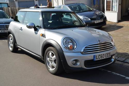 2010 (60) MINI ONE 1.6 3 Door Hatchback For Sale (picture 1 of 6)