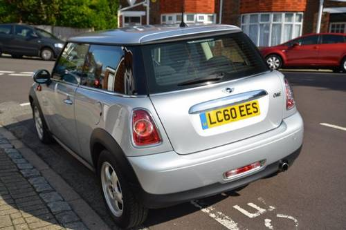 2010 (60) MINI ONE 1.6 3 Door Hatchback For Sale (picture 2 of 6)