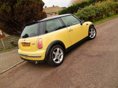 2003 Mini Cooper With 1 Owner From New & Only 17,900 Miles For Sale (picture 6 of 6)