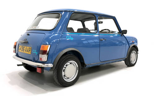 1990 Rover Mini City auto with just 8900 miles SOLD (picture 2 of 6)