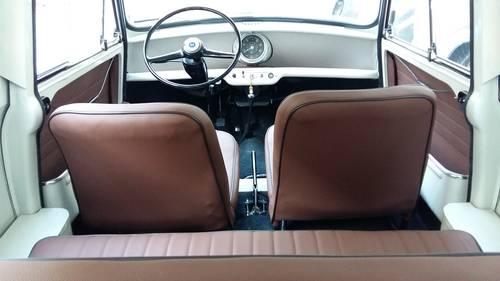 1968 Morris Mini 850 Van 1/4 Ton  For Sale (picture 5 of 6)