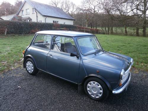 1991 ROVER MINI NEON LTD EDT 39K 1 OWNER * GARAGE FIND * SOLD (picture 1 of 6)