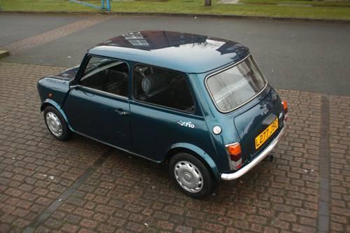 1993 Rover Mini Rio - 1275cc, Caribbean Blue, 51k SOLD (picture 1 of 6)