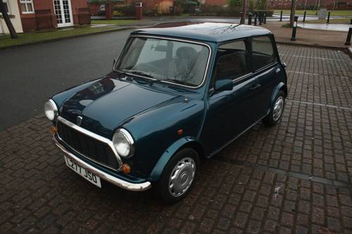 1993 Rover Mini Rio - 1275cc, Caribbean Blue, 51k SOLD (picture 2 of 6)