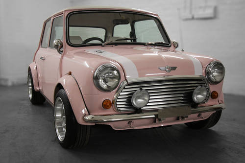 1994 Harajuku Pink Mini Cooper 1.3i 10,497 miles For Sale (picture 1 of 6)
