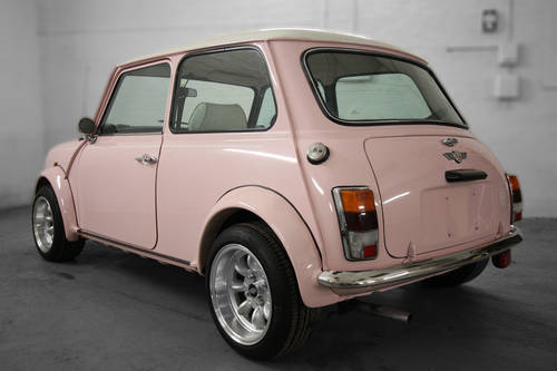1994 Harajuku Pink Mini Cooper 1.3i 10,497 miles For Sale (picture 2 of 6)