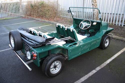 Mini Moke 1966 Spruce Green. SOLD (picture 1 of 6)