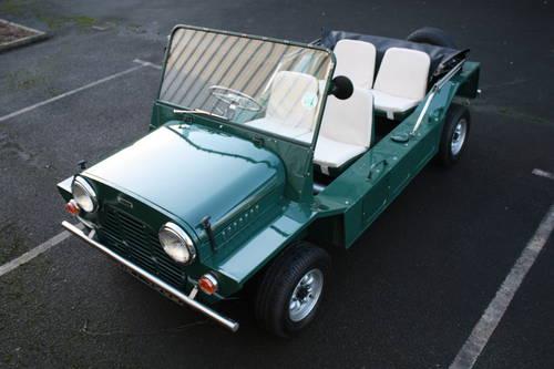 Mini Moke 1966 Spruce Green. SOLD (picture 2 of 6)