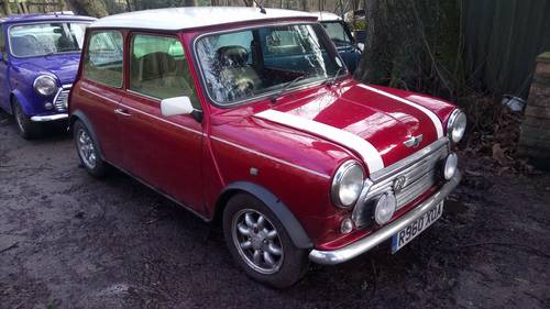 1998 Mini Cooper SOLD (picture 1 of 5)
