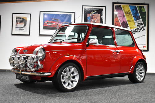 2000 Stunning Spec, Solar Red Mini Cooper Sport SOLD (picture 1 of 6)