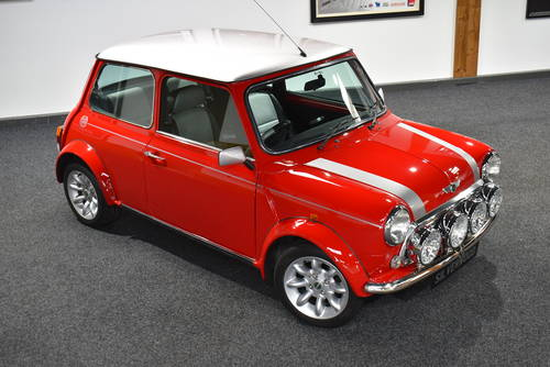 2000 Stunning Spec, Solar Red Mini Cooper Sport SOLD (picture 2 of 6)