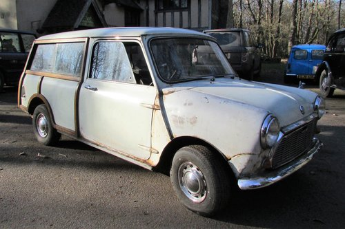 1968 Mini Mk2 Woody Traveller SOLD (picture 1 of 6)