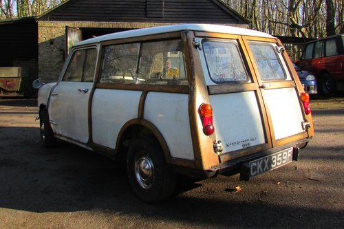 1968 Mini Mk2 Woody Traveller SOLD (picture 3 of 6)