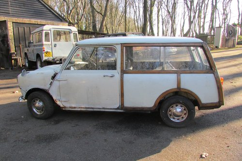 1968 Mini Mk2 Woody Traveller SOLD (picture 4 of 6)