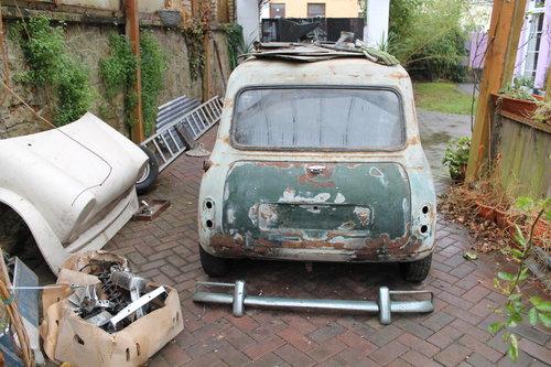 1964 Austin Mini Cooper With 1275 Cooper S Engine Barn Find Sold