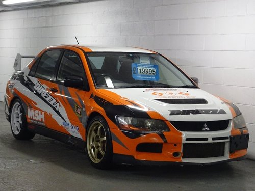 2005 Mitsubishi Lancer 2.0 4dr EVO 9 RS LIGHT WEIGHT MODEL For Sale (picture 1 of 6)
