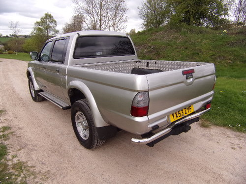 2003 Mitsubishi L200 2.5 TD Warrior 4x4 D/C Pickup (121,514m) For Sale (picture 2 of 6)