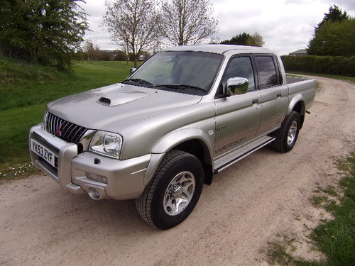 2003 Mitsubishi L200 2.5 TD Warrior 4x4 D/C Pickup (121,514m) For Sale (picture 3 of 6)