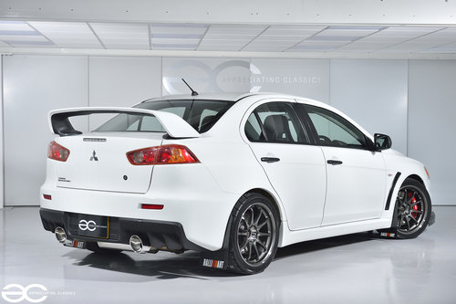 2008 Mitsubishi Evolution X RS - 35k miles - Stunning condition  SOLD (picture 3 of 6)