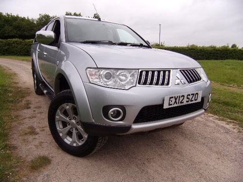 2012 Mitsubishi L200 2.5DI-D Warrior Double Cab (126830 m). For Sale (picture 1 of 6)