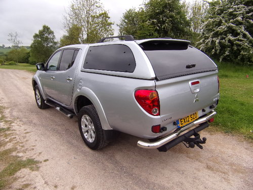 2012 Mitsubishi L200 2.5DI-D Warrior Double Cab (126830 m). For Sale (picture 2 of 6)