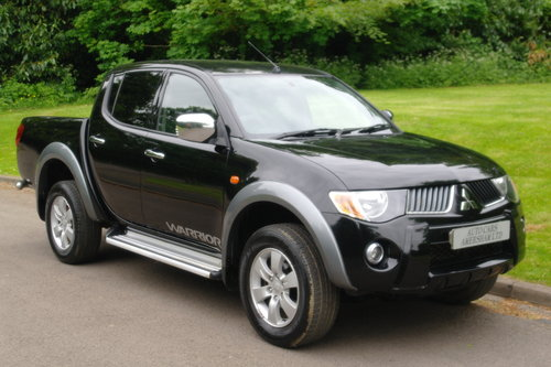 2006 Mitsubishi L200 Warrior.. Double Cab Pickup.. Bargain.. SOLD (picture 1 of 6)