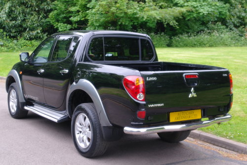 2006 Mitsubishi L200 Warrior.. Double Cab Pickup.. Bargain.. SOLD (picture 6 of 6)