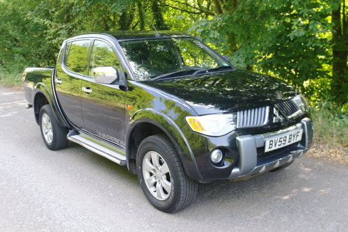 3995 2009/59 Mitsubishi L200 Warrior Double Cab Pickup. Bargain.. SOLD (picture 1 of 6)