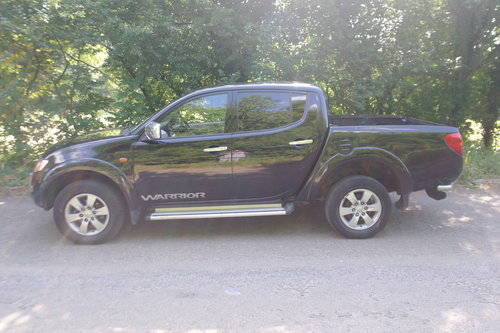 3995 2009/59 Mitsubishi L200 Warrior Double Cab Pickup. Bargain.. SOLD (picture 2 of 6)