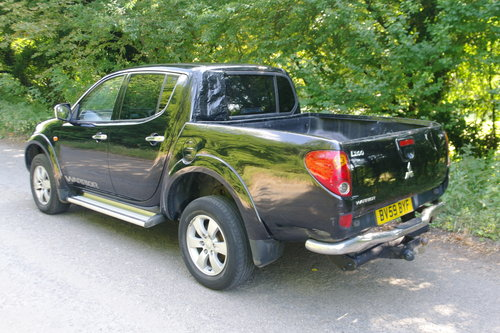 3995 2009/59 Mitsubishi L200 Warrior Double Cab Pickup. Bargain.. SOLD (picture 6 of 6)