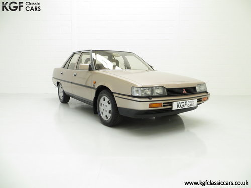 1986 Mitsubishi Galant 2000GLS with just One Owner & 55,098 Miles SOLD (picture 1 of 6)