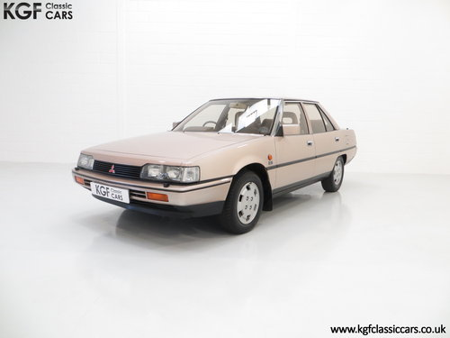 1986 Mitsubishi Galant 2000GLS with just One Owner & 55,098 Miles SOLD (picture 2 of 6)
