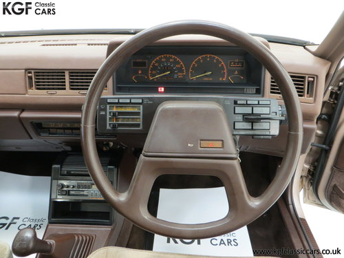 1986 Mitsubishi Galant 2000GLS with just One Owner & 55,098 Miles SOLD (picture 6 of 6)