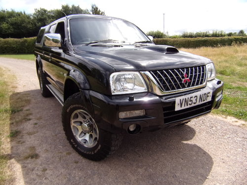 2003 Mitsubishi L200 Warrior 4x4 LWB  For Sale (picture 1 of 6)