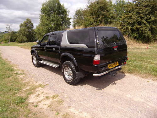 2003 Mitsubishi L200 Warrior 4x4 LWB  For Sale (picture 2 of 6)