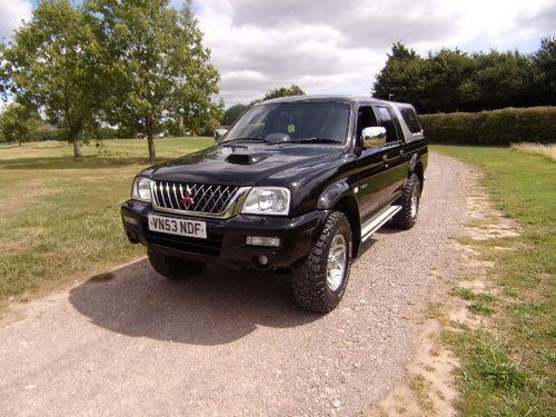 2003 Mitsubishi L200 Warrior 4x4 LWB  For Sale (picture 3 of 6)