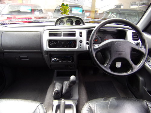 2003 Mitsubishi L200 Warrior 4x4 LWB  For Sale (picture 5 of 6)