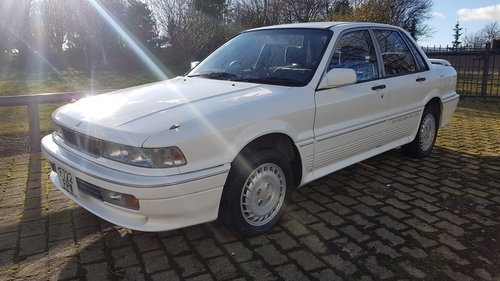 1989 MITSUBISHI GALANT VR4 - 4 WHEEL DRIVE TURBO, JAP IMPORT SOLD (picture 1 of 6)
