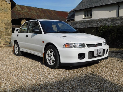 1994 Mitsubishi Evo 2 RS - 35k miles, standard, immaculate For Sale (picture 1 of 6)