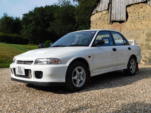 1994 Mitsubishi Evo 2 RS - 35k miles, standard, immaculate For Sale (picture 4 of 6)