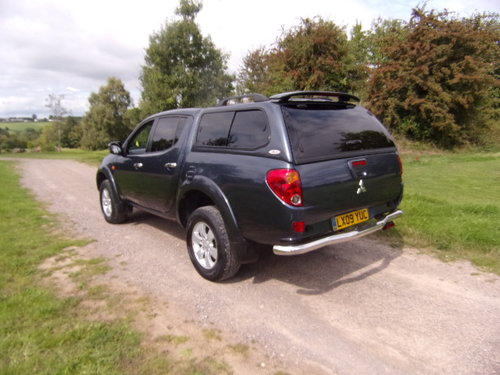 2009 Mitsubishi L200 Warrior D/C 4WD For Sale (picture 2 of 6)
