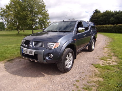 2009 Mitsubishi L200 Warrior D/C 4WD For Sale (picture 3 of 6)