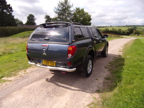 2009 Mitsubishi L200 Warrior D/C 4WD For Sale (picture 4 of 6)