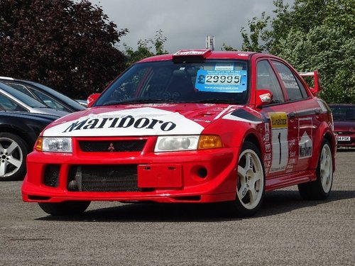 2000 Mitsubishi Lancer 2.0 EVO VI GSR Tommi Makinen 4dr EVOLUTION For Sale (picture 1 of 6)